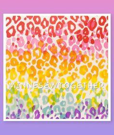 ALEXANDER HENRY Rainbow Leopard Fabric 100% Cotton BTHY OOP Hard To Find RARE   Crafts, Fabric   eBay!