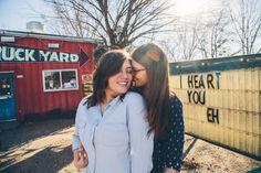 Lower Greenville Lesbian Engagement Steph Grant