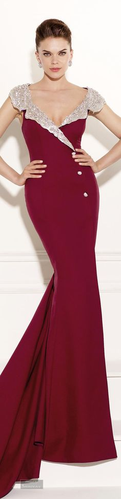 Tarik Ediz.Evening Dress