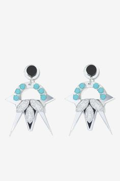 Melody Ehsani Nebula Swarovski Crystal Earrings | Shop Accessories at Nasty Gal