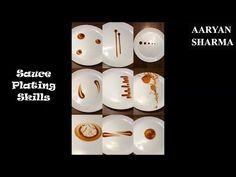 13 Sauce Plating Skills/Ideas - YouTube
