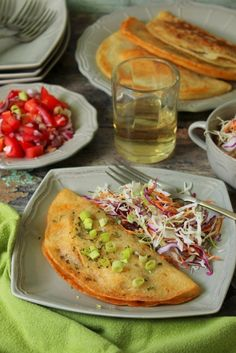 Arab palacsinta sajttal, gombával töltve recept Margarita, Hungarian Recipes, Baked Potato, Waffles, Main Dishes, Food And Drink, Appetizers, Mexican, Ethnic Recipes