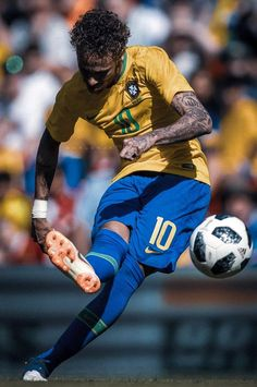 Football Neymar, Brazil Football Team, Football Icon, Best Football Players, World Football, Soccer Players, Neymar Barcelona, Neymar Brazil, Cristiano Ronaldo 7