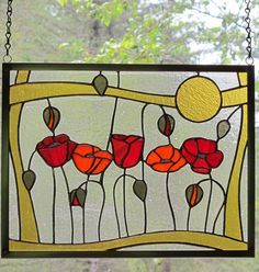 Image result for stained glass patterns simple mackintosh flower