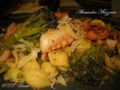Orecchiette con polpo e broccolo siciliano | Ricetta