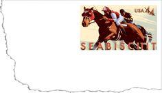 Seabiscuit Stamped Envelope, 44¢ | USPS Stamps