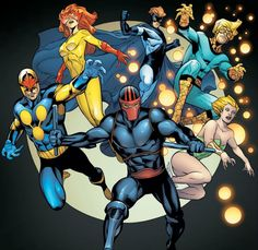 Firestar and The New Warriors