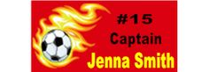 Soccer Banners - Great for Teams or Individual Players