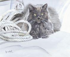 Artwork by Lyn Estall - Ahoy