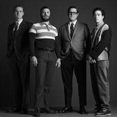 Still of Jay R. Ferguson, Ben Feldman, Rich Sommer and Aaron Staton in Mad Men
