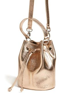 Product Name:Mini Metallic Bucket Bag, Category:ACC_Handbags, Price:19.9