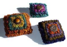Wool Pins by Dancing Eye Gallery, via Flickr