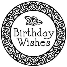 retro rose birthday wishes