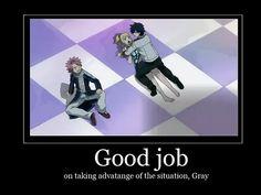 Tags: Anime, Screenshot, FAIRY TAIL, Natsu Dragneel, Gray Fullbuster