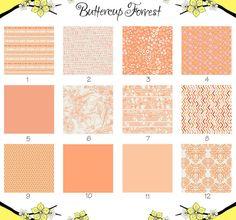 Crib Sheet Peaches N Cream Collection Peach By Ercupforrest