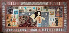 mosaic by Yaser Mosaic Pictures, Painting, Art, Art Background, Painting Art, Kunst, Paintings, Performing Arts, Painted Canvas
