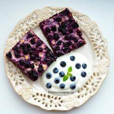 Borůvkový pudingový koláč