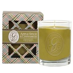 Greenleaf Signature Candle 9.5 Oz. - Apple Spice & Cinnamon