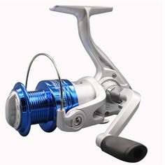Nueva 10BB 5.2: 1 Metal Peche Spinning Pesca Carrete Carrete de Giro de la Rueda de Pescado Aparejos De Pesca CF1000-6000 envío gratis
