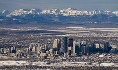 Calgary Alberta Canada x Alberta Canada, Calgary, City Sky, The Beautiful Country, Rocky Mountains, San Francisco Skyline, Places To Travel, Pictures, Photos