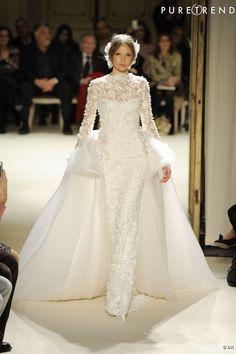 robe mariée Haute Couture Georges Hobeika