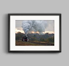 Golden Age of Steam, a fine art landscape print