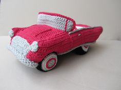 Digitale Downloads - Häkelanleitung Hochzeits- Cabrio - ein Designerstück von Medina-Nadine bei DaWanda Crochet Car, Crochet For Boys, Crochet Toys, Yarn Projects, Crochet Projects, Crochet Stitches, Harry Potter Crochet, Crochet Humor, Tricot