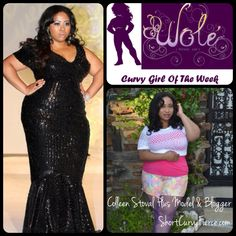 Check out our curvy girl of the week is Colleen from Short Curvy Fierce! Colleen is an up and coming petite plus model and an amazing blogger. She has a wonderful energy and contagious spirit that makes her not only an incredible member of our community but also an amazing person in general. Her passion for the plus industry is evident and we love seeing her breakdown industry barriers all  while looking fabulous! Check her out at www. ShortCurvyFierce.com