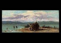 Ship from the Fishing von Agostino Fossati