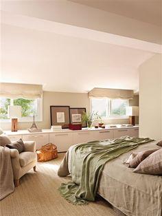Un piso pequeño resuelto con mucho ingenio · ElMueble.com · Casas