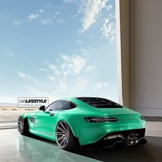 """Wide Mercedes AMG GTS • Design by @gabe_carlifestyle • • A @carlifestyle Design • #Carlifestyle"""