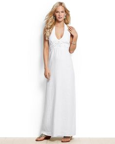 d42d4a694948e0 Two Palms Halter Maxi Dress, Tommy Bahama. This would make a great beach  wedding