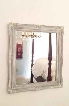 large wall mirror gray ornate bathroom living room wall mirror hollywood regency mirror
