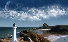lighthouses | Lighthouses Around the World - HD Wallpapers Widescreen - 1280x800
