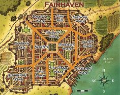 map fantasy eberron rpg maps town village medieval urban fairhaven park google river icons dungeon