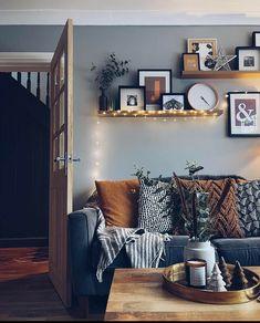 Living Room Decor Cozy, Home Living Room, Apartment Living, Interior Exterior, Home Interior Design, Living Room Inspiration, Cozy House, Home Furniture, Decoration