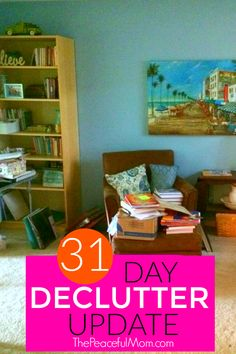 Have you joined us for the 31 Day Decluttering Challenge? We're working just 10 minutes a day in one small area of our homes, so by the end of the challengewe will have made significant progress. And speaking of the challenge, I have a confession to make. So you know those times in parenting when …