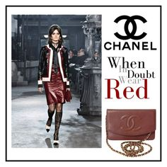 """""""Chanel"""" by ena07-dlxx ❤ liked on Polyvore featuring Chanel"""