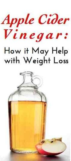 How apple cider vinegar may help with weight loss. Experts explain this and how you can add it into your diet.