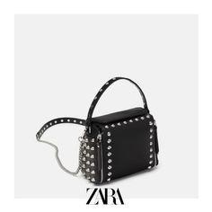 b5b1b95a64 ZARA - Female - Rocker crossbody bag Rocker Girl, Crossbody Bag, Zara Women,