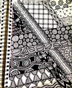 From the ARTsy Side of SAIDFRAZ: Doodle Madness