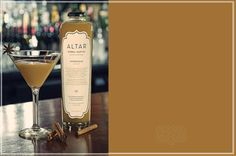 ALTAR Aphrodisiac Herbal Martini cocktail recipes
