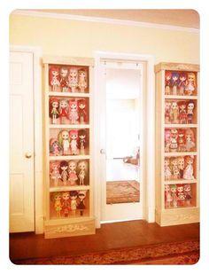 Sherri Dupree's Blythe Doll collection