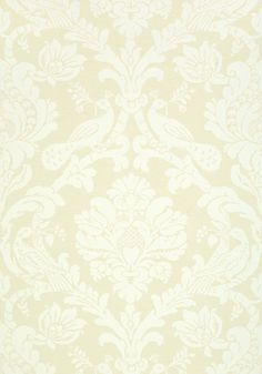 PASSARO DAMASK, Beige, T89135, Collection Damask Resource 4 from Thibaut
