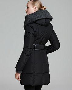 Mackage Coat - Brigid Down with Knit Trim Hood