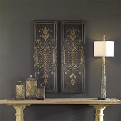 Uttermost Melani Decorative Panels S/2