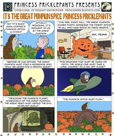 Princess Pricklepants Presents Issue It's the Great Pumpkin Spice Princess Pricklepants It's The Great Pumpkin, Pumpkin Spice, Hedgehog, Spices, Presents, Things To Come, Princess, Comics, Posters