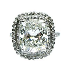 Cushion Diamond Frame Ring  #jbirnbach #jewelry #nyc #diamonds #engagement #wedding #bridal