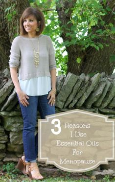 Find out 3 Reasons I Use Essential Oils For Menopause - Cindy Spivey