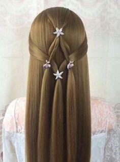 Peinados Para Ninas De Pelo Largo Peinados Pinterest Girl